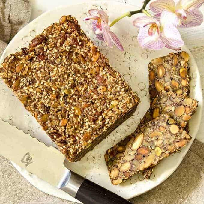 Nut and Seed Bread | Keto Gluten-Free Bread – Two Sleevers