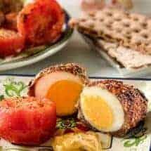 Air Fried Scotch Eggs