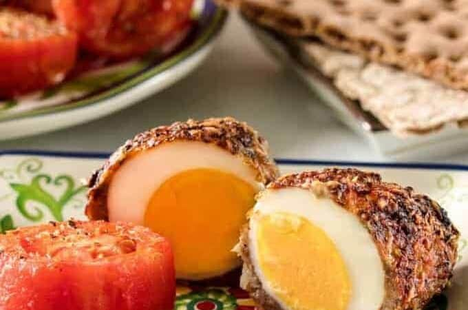 Air Fried Scotch Eggs