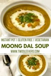 Instant Pot Moong Dal Soup