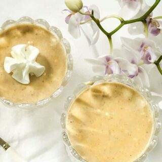 Peanut Butter Maple Mousse
