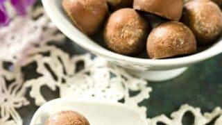 Keto Truffles | Milky Chocolate Fat Bomb Recipe
