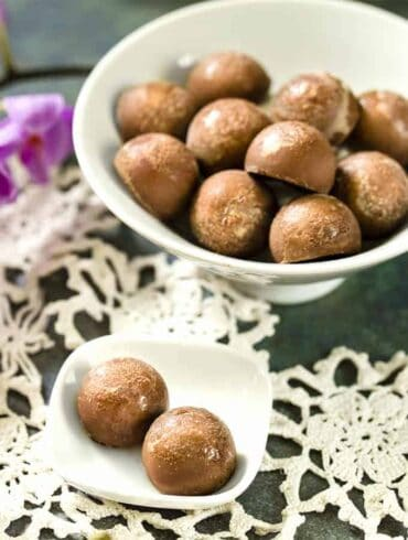 Milky Chocolate Truffles