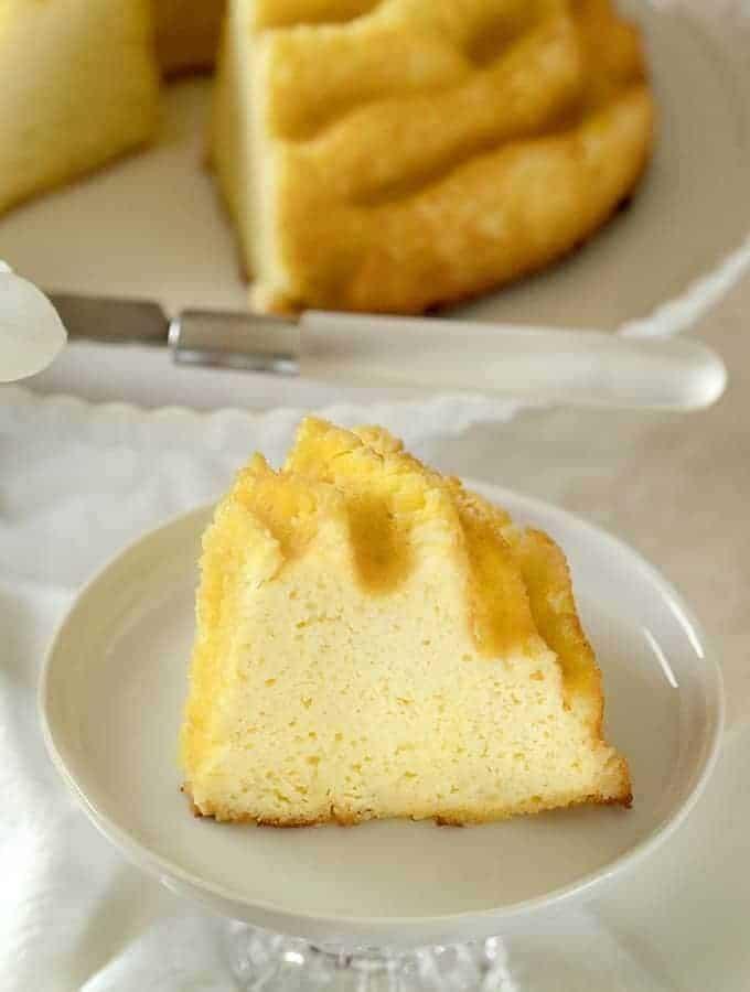 Cream Cheese Pound Cake | Keto Pound Cake