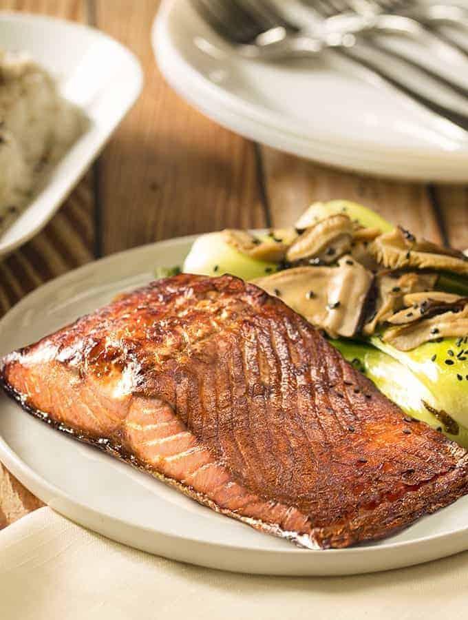Salmon Bok Choy