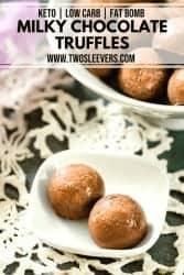 Milky Chocolate Truffles