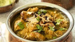 South Indian Chicken Curry | Pressure Cooker Coconut Tamarind Chicken Curry