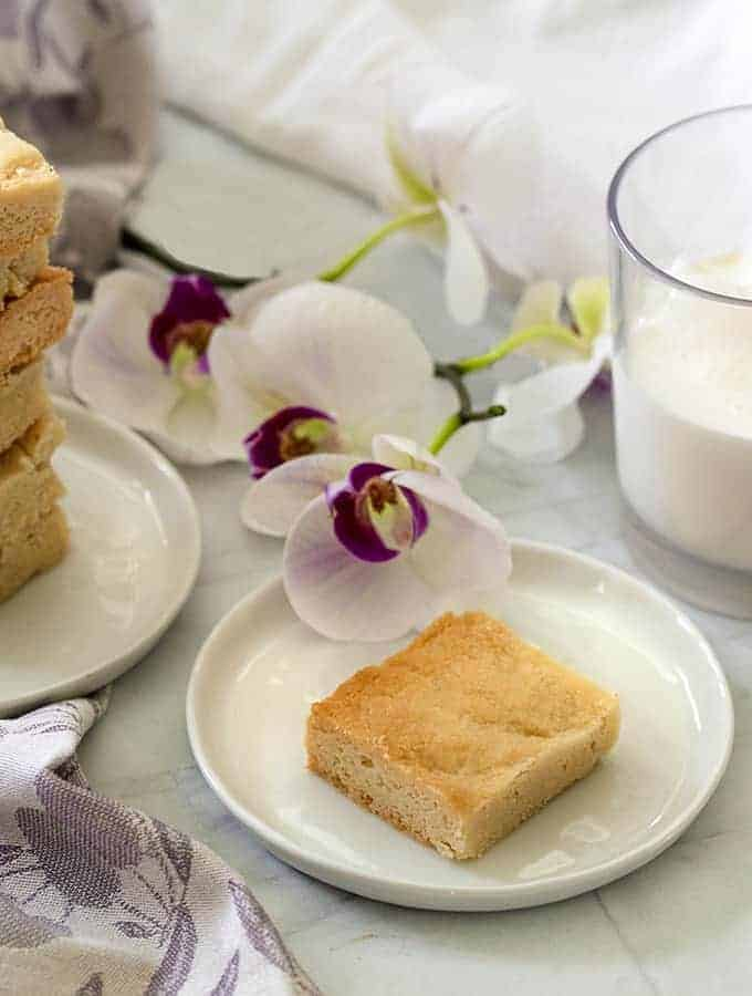 Keto Almond Shortbread | Low Carb Dessert Recipe
