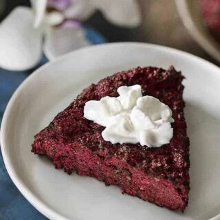 Blackberry Coconut Bake