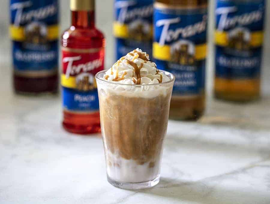 Keto Iced Caramel Macchiato Iced Bulletproof Coffee Recipe