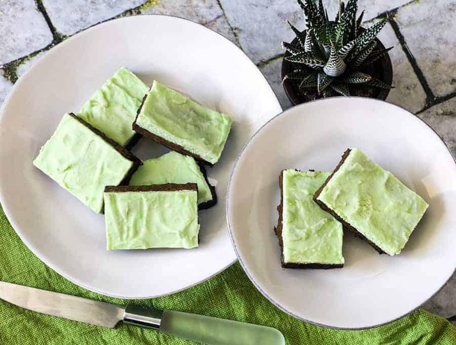Keto Mint Chocolate Bars