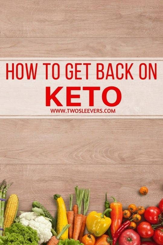get back on keto