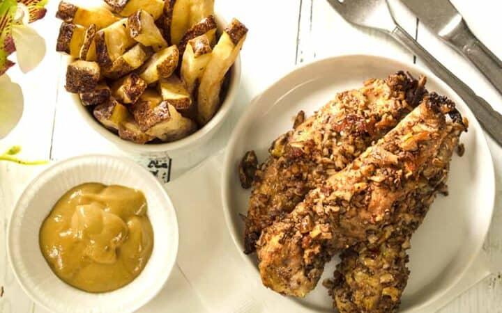 Pecan Crusted Chicken Wide