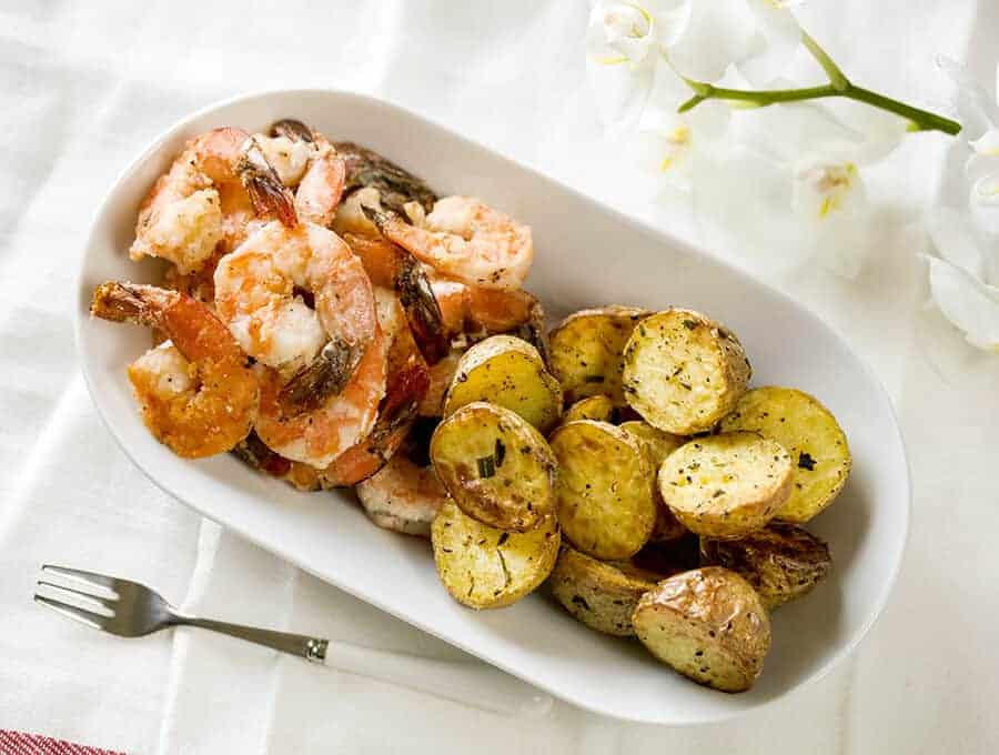 Rosemary Roasted Potatoes Wide