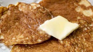Keto Silver Dollar Pancakes | A Keto Breakfast Classic