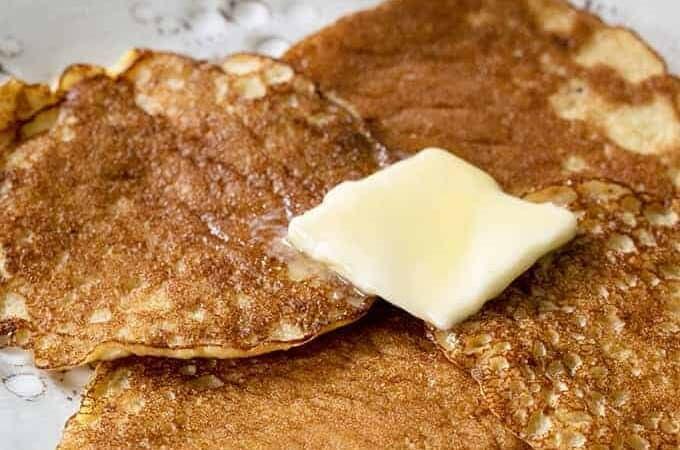 Keto Silver Dollar Pancakes
