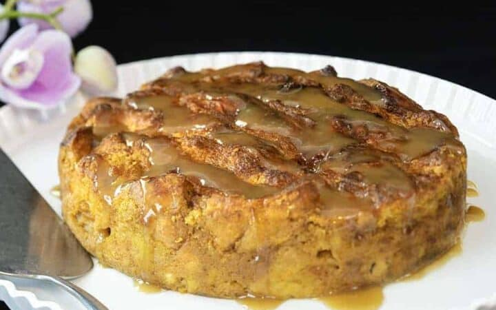 Pumpkin Spice Bread Pudding