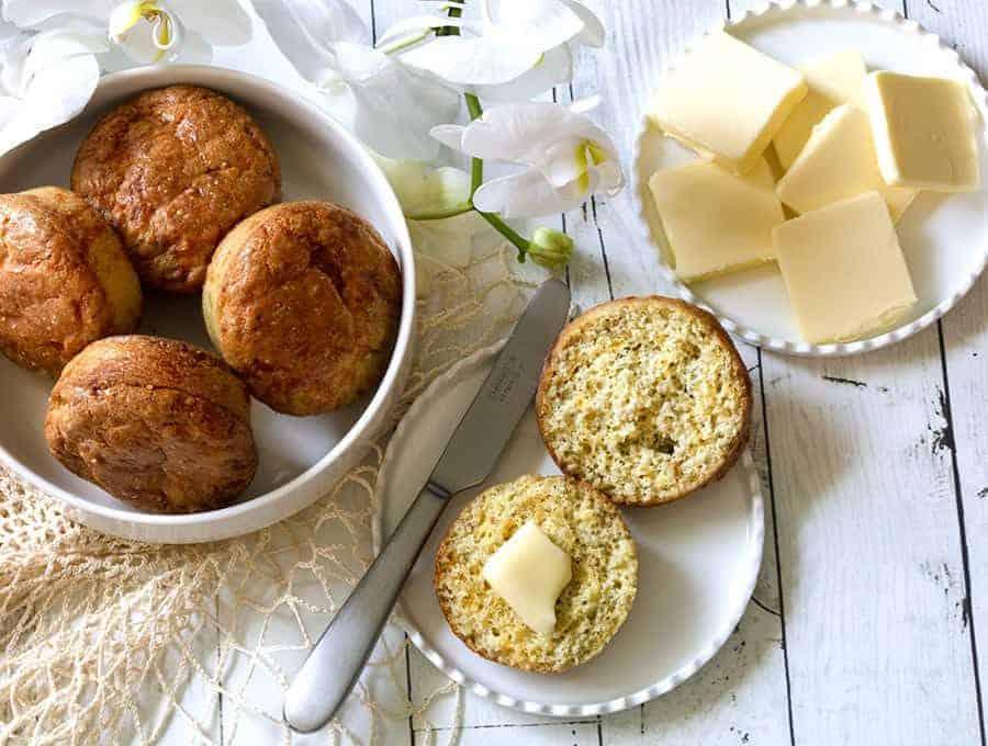 Keto Cheese Muffins