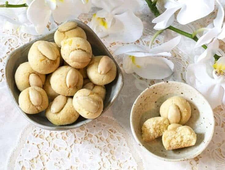 Keto Almendrados Cookies |Gluten Free Cookies
