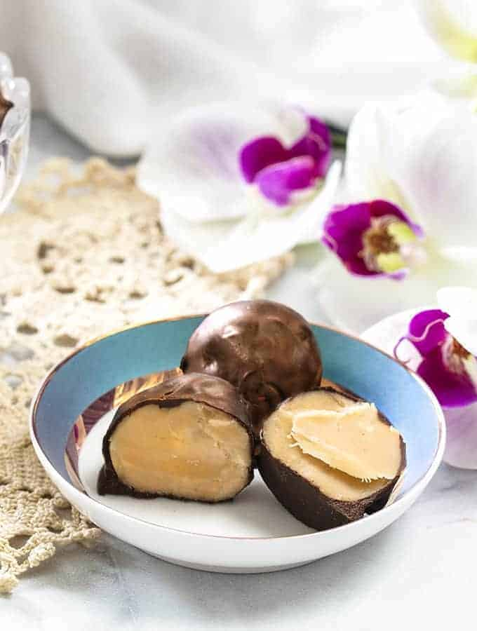 Sweet Cream Truffles