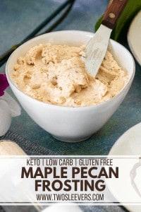 Maple Pecan Frosting