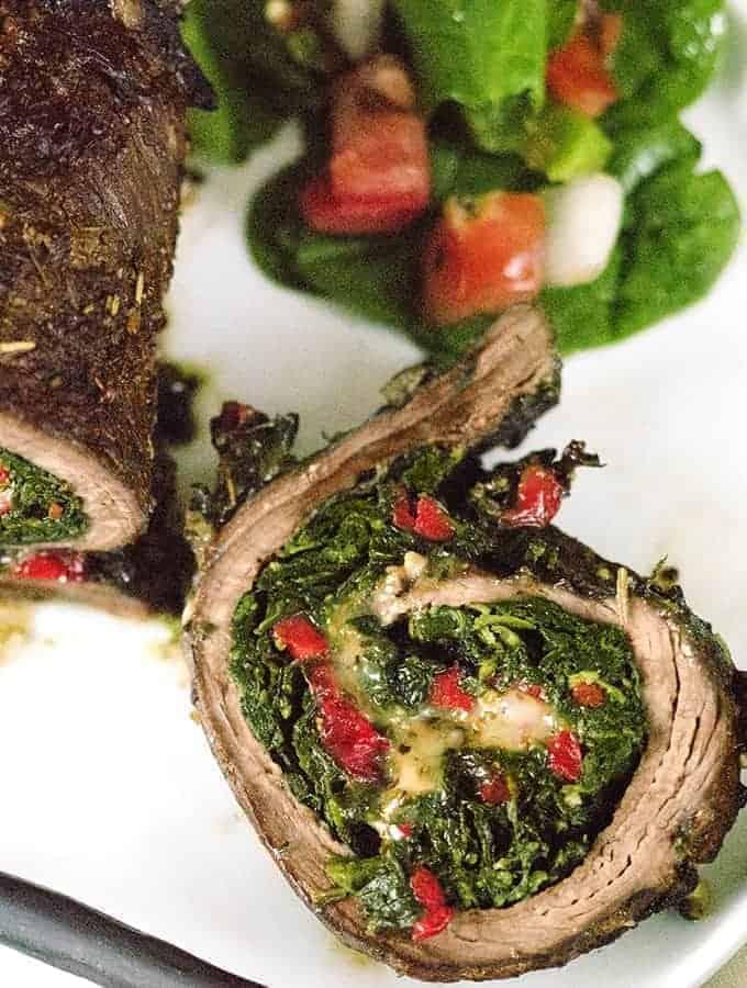 Italian Stuffed Steak Rolls