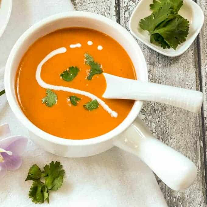 Indian Tomato Soup
