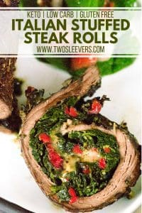Italian Stuffed Steak Rolls