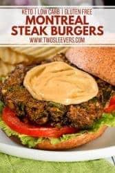 Montreal Steak Burgers