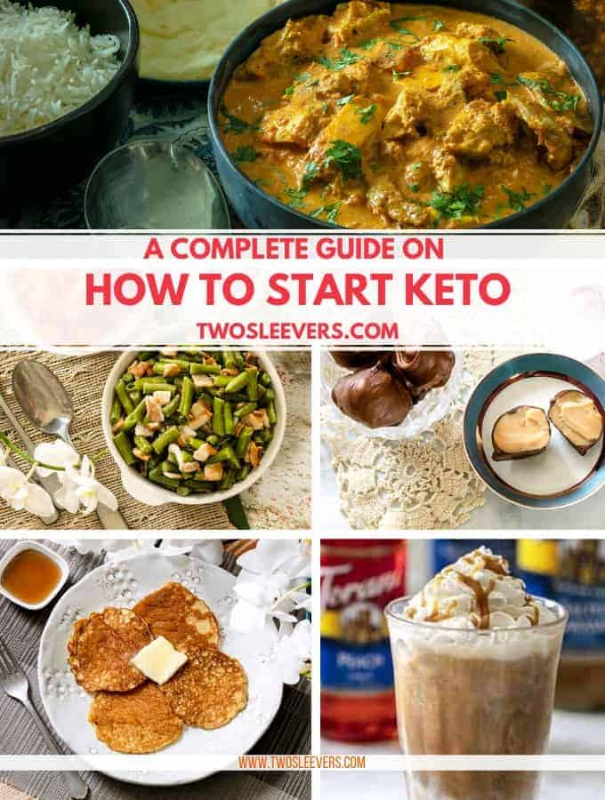 Different types of food titled A Complete Guide on How to Start Keto.