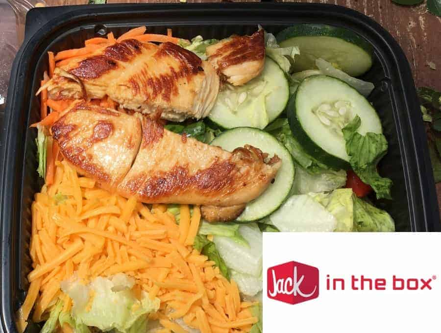 Jack In The Box Salad