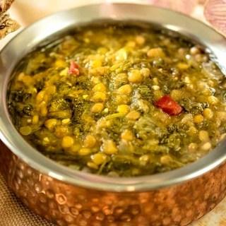 Instant Pot Lentil Soup | Lentil Spinach Soup
