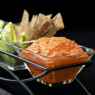 Lebanese Muhammara | Low Carb Roasted Pepper Dip