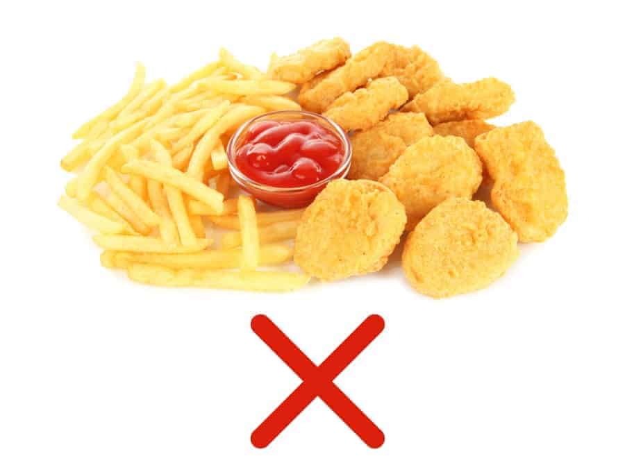 No Fried Foods