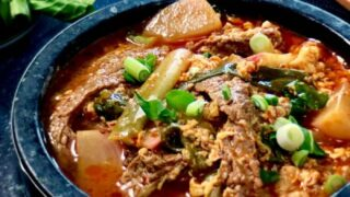 Yukgaejang | Keto Spicy Korean Beef Stew