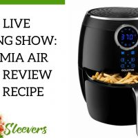 Review of Gourmia Air Fryer at Costco and Fennel Chicken Recipe