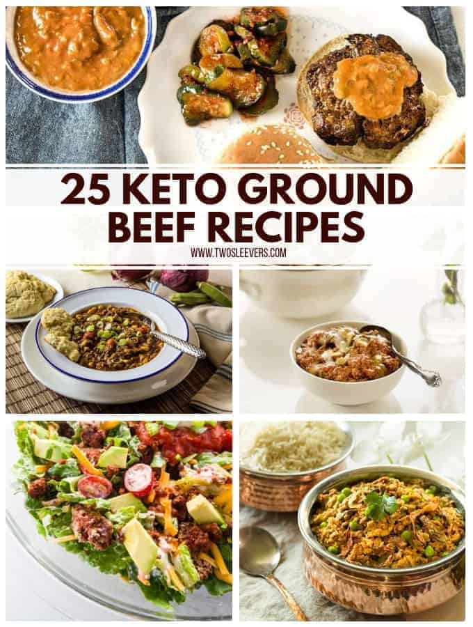 Keto diet recipes with ground beef