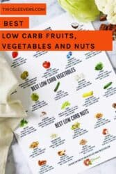 Best Low Carb Fruits, Vegetables and Nuts