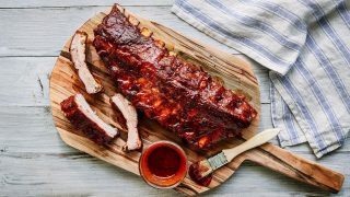 Instant Pot Smoky Ribs