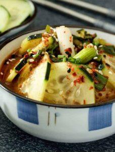Korean Cucumber Salad | Korean Oi Muchim