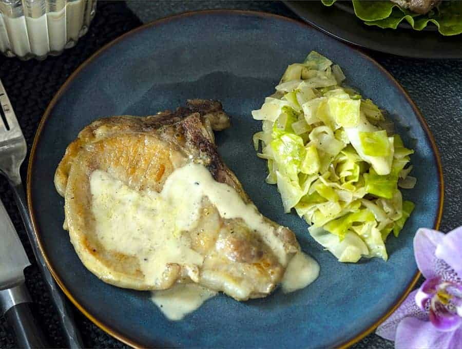 Pan Fried Pork Chops