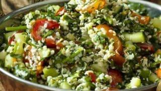 Tabouli Recipe with Hemp Hearts | Keto Tabbouleh Recipe