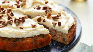This Keto Carrot Cake Is Cream-Cheese-Frosted and Only 3 Net Carbs Per Serving