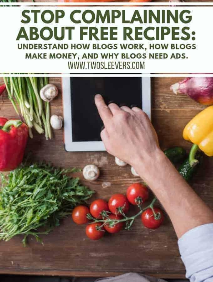 Ads on blogs