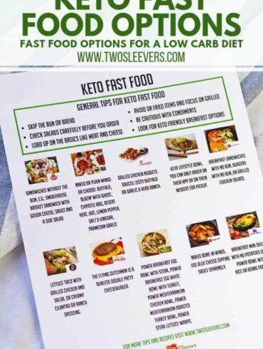 Keto Fast Food