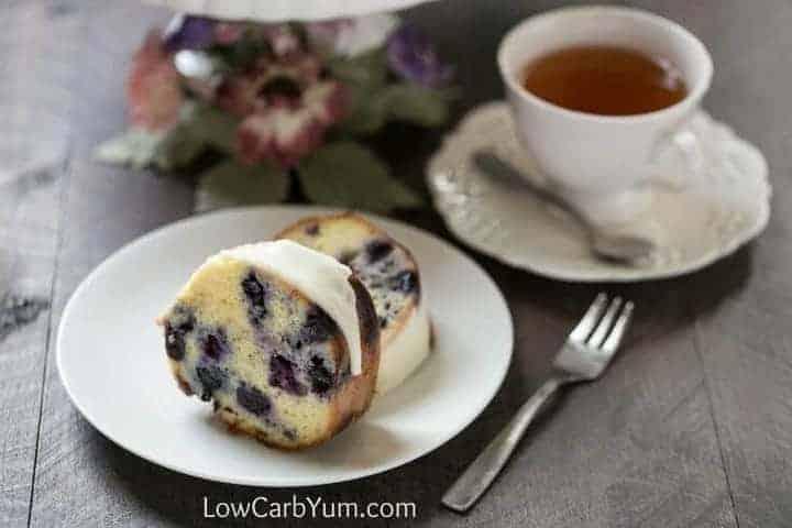 Lemon Blueberry Pound Cake Recipe - Gluten Free