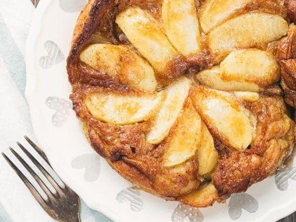 Air Fryer German Apple Pancakes Video Twosleevers