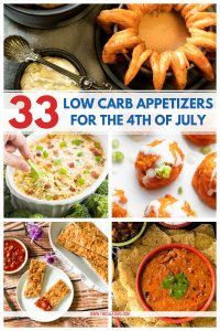 Low Carb Appetizers for the 4th of July