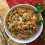 Air Fryer Shrimp Fried Rice