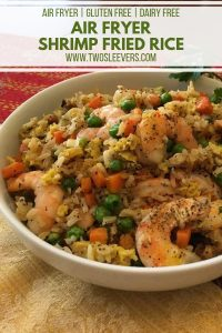 Air Fryer Shrimp Fried Rice Pinterest 1